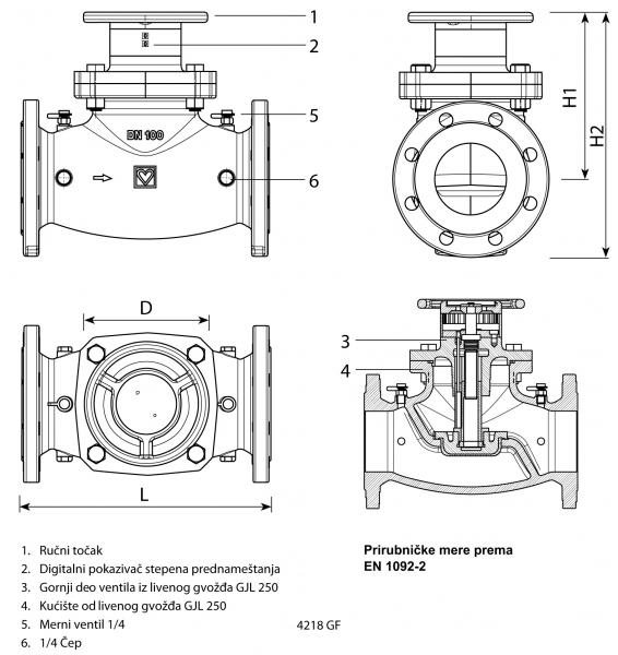 Regulacioni ventil HERZ  STROMAX